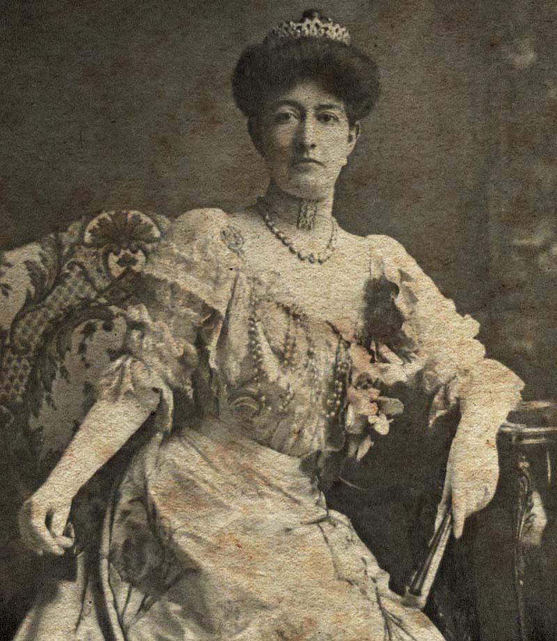 Carmen Romero Rubio, esposa de Porfirio Díaz era uno de los referentes de la moda durante esta época. Crédito: http://contenido.com.mx
