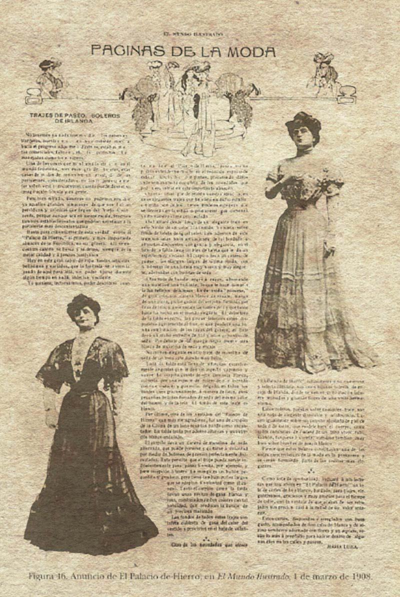 Artículo publicado el 1 de marzo de 1908 en El Mundo Ilustrado. (Hellion 170)