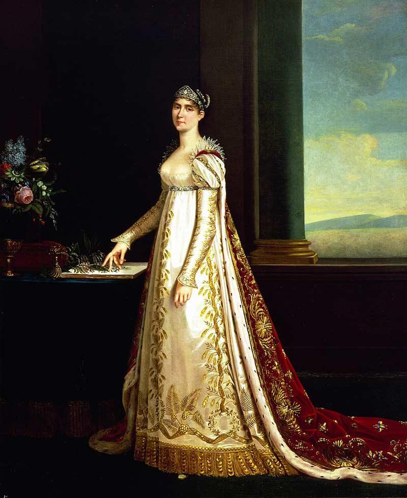 La emperatriz Josefina. Crédito: http://telademoda.com/