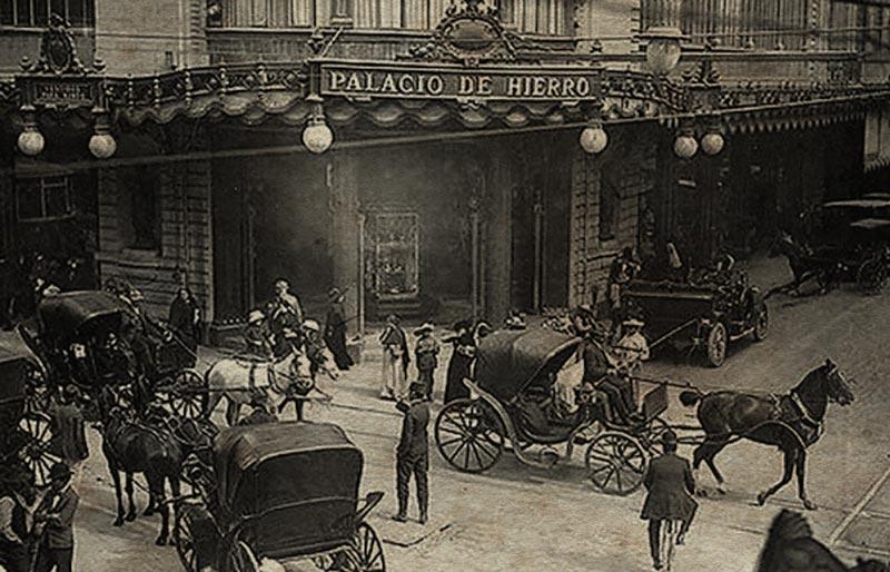 Vista exterior de El Palacio de Hierro. Crédito: http://bing.com