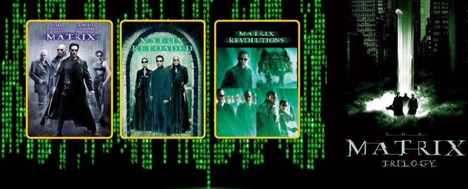 """Trilogía de películas """"The Matrix"""". Fuente: community.wd.com"""