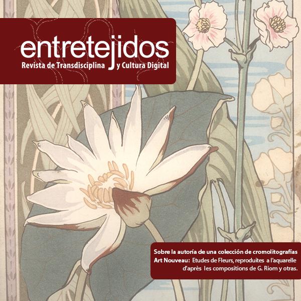 Sobre la autoría de una colección de cromolitografías Art Nouveau: Etudes de Fleurs, reproduites a l'aquarelle d'après les compositions de G. Riom y otras