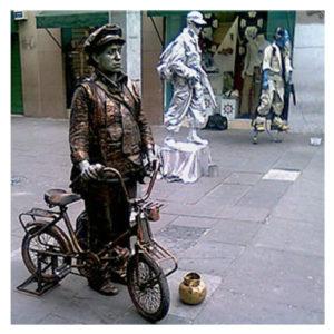 Alejandro Cervantes. Escenificación. Fotografía Madero, Madero, Centro Histórico, 2012.