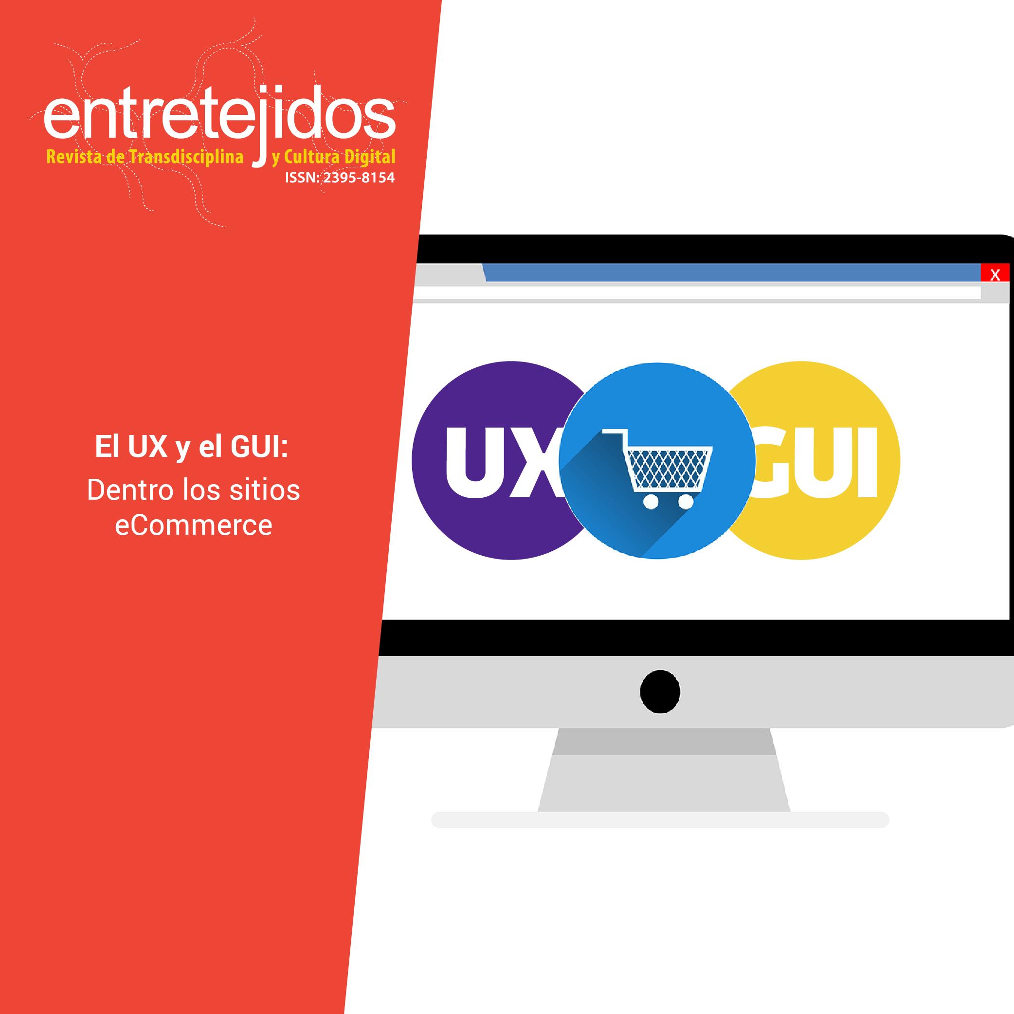 El UX y el GUI dentro de los sitios eCommerce